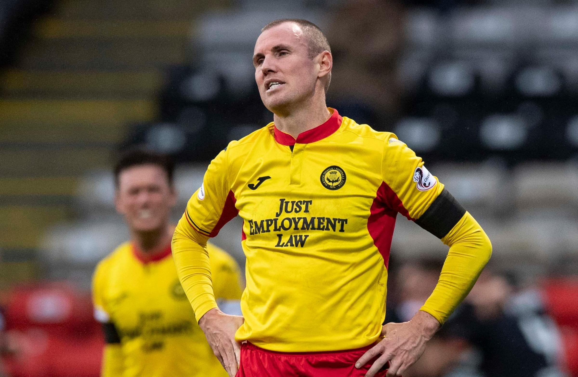 Kenny Miller leaves Partick Thistle by mutual consent