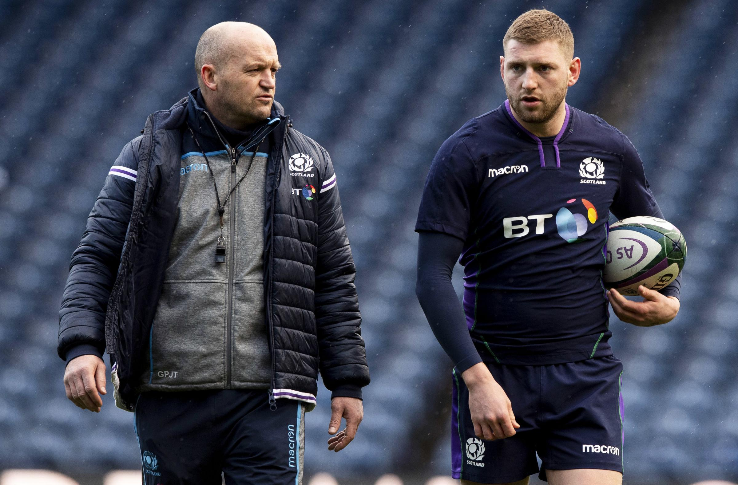 Finn Russell hopes to return to Six Nations campaign despite falling out with Gregor Townsend