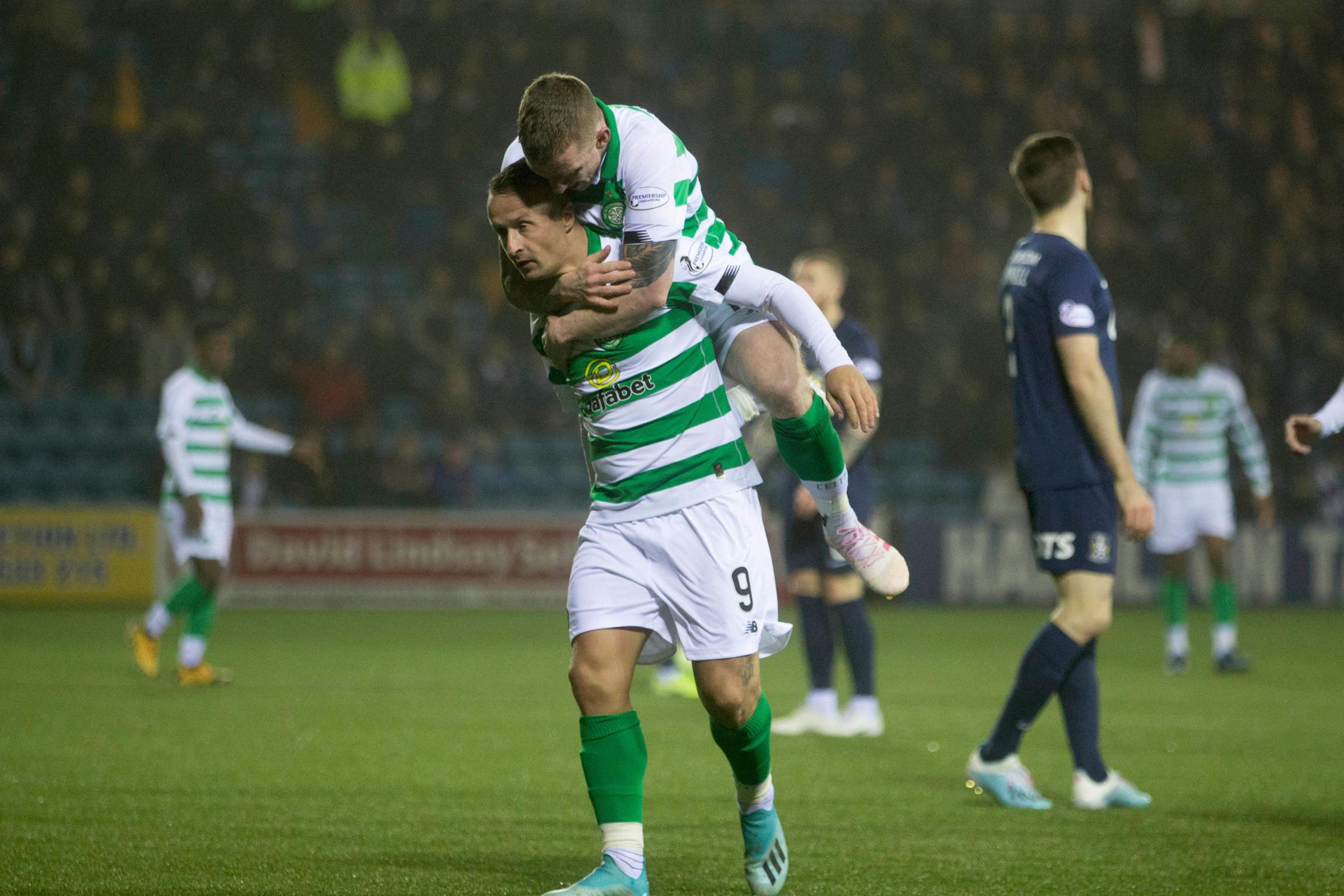 Scott Brown: Never mind tale of the tape, Leigh Griffiths' goals will silence doubters