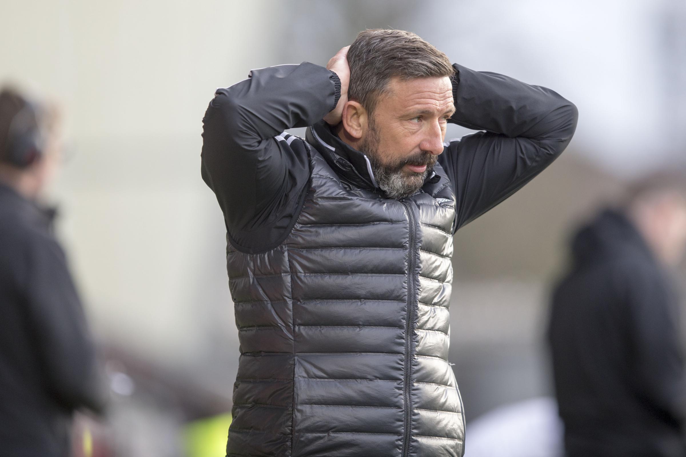 Pressure mounts on Derek McInnes as Aberdeen draw blank at St Mirren