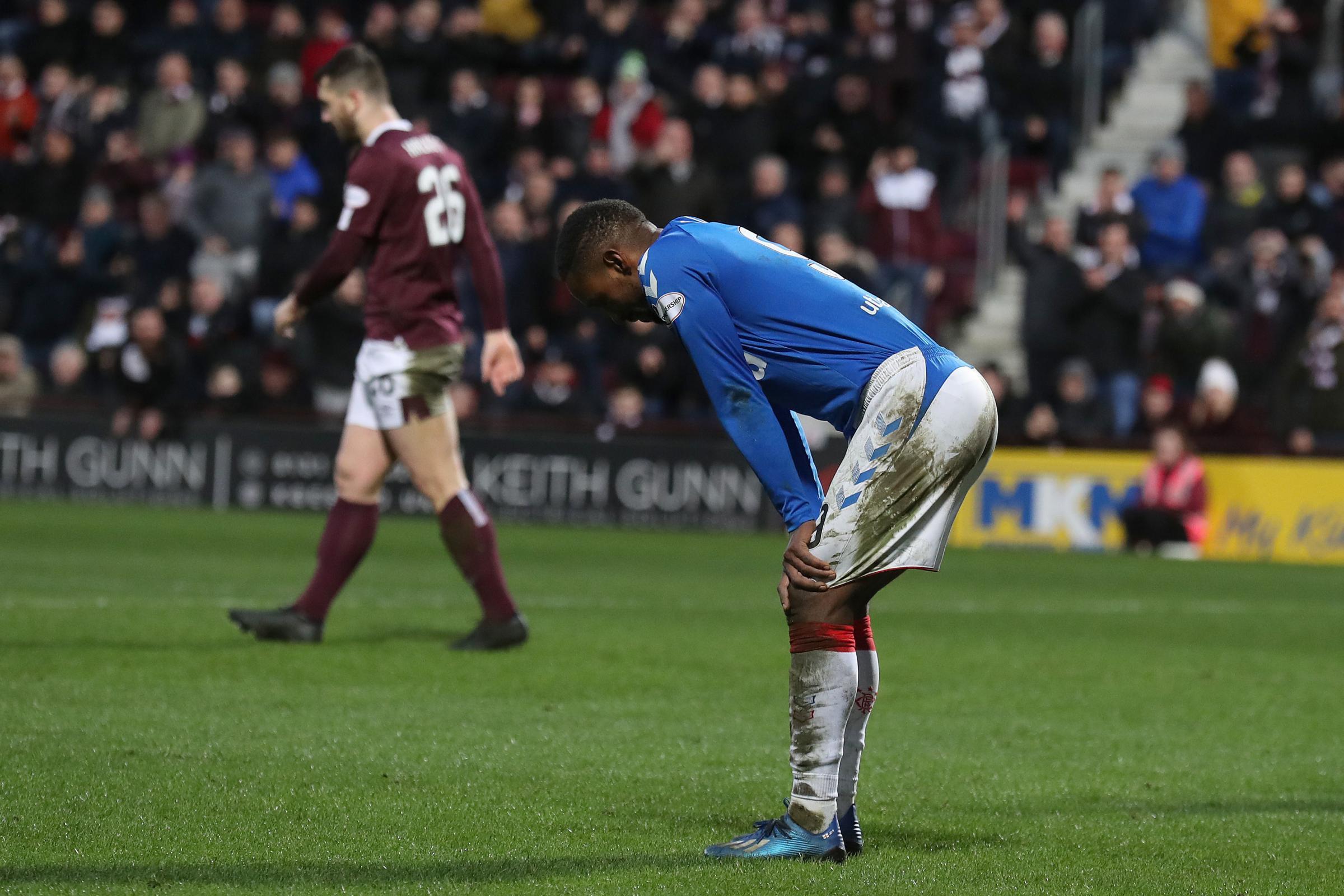 Jermain Defoe sure Rangers won't lay down and die in title race despite Hearts setback