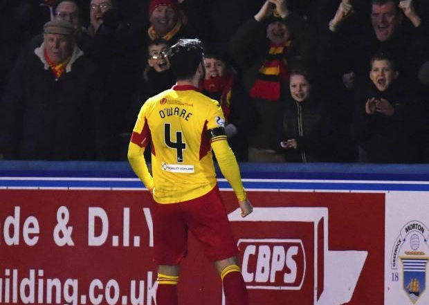 Partick Thistle captain Tam O'Ware signs Firhill contract extension