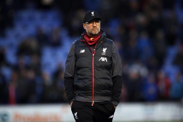 Jurgen Klopp says he will not take charge of Liverpool in their fourth-round replay against Shrewsbury