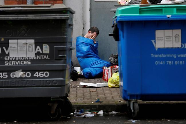 Homelessness in Glasgow (stock image)