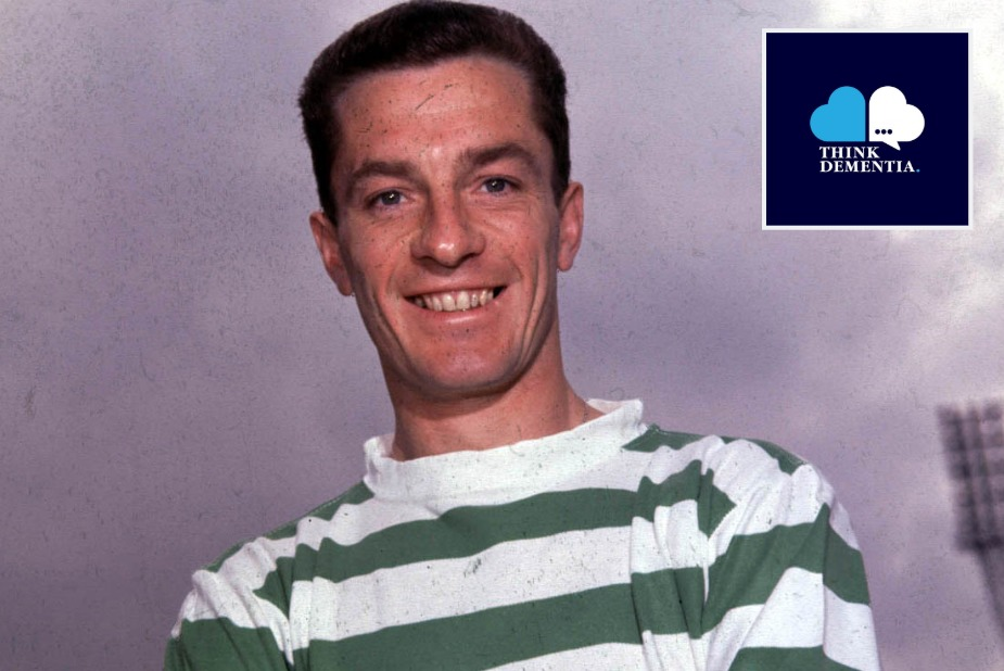 Celtic icon Stevie Chalmers' son opens up on dad's dementia battle