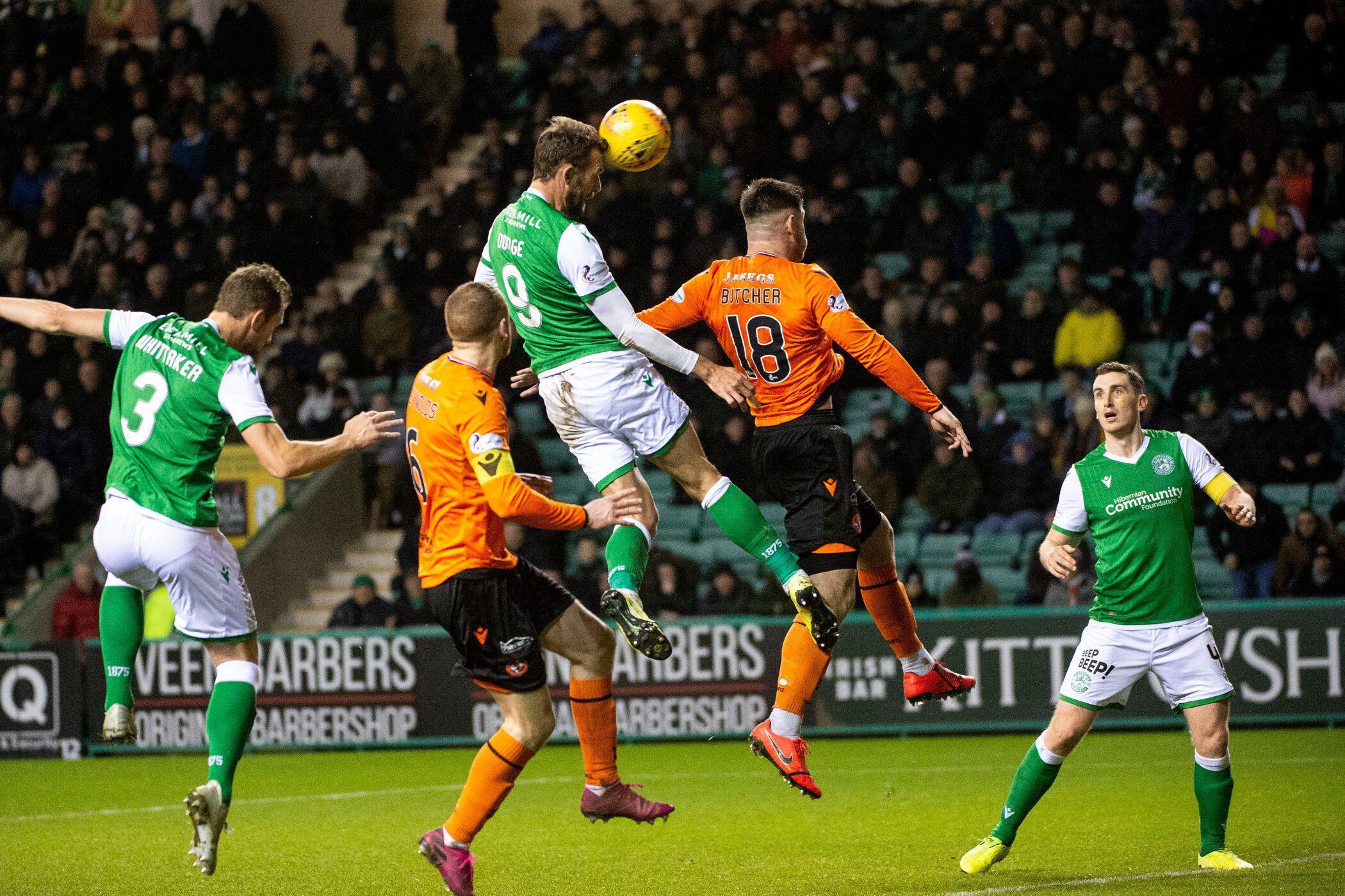 Hibernian 4, Dundee United 2: Christian Doidge seals Scottish Cup win