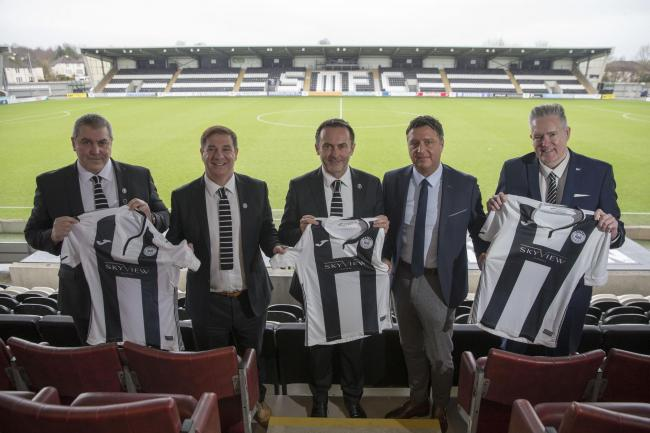 SMISA and Kibble have joined forces to turn St Mirren into a fan-owned club PHOTO: JEFF HOLMES