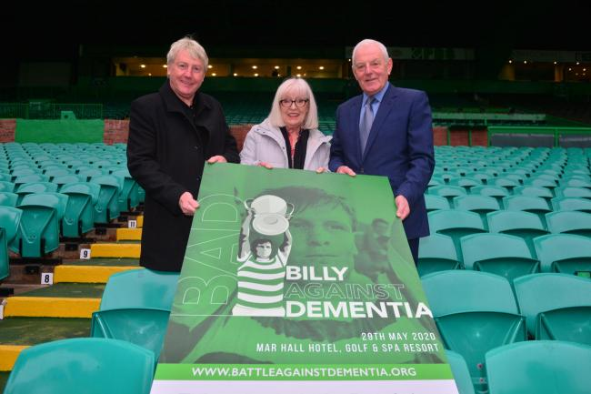 'Billy Against Dementia' Charity at Celtic Park.