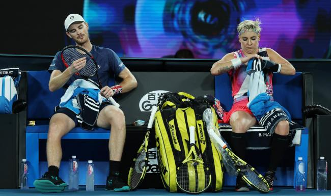 Jamie Murray will continue playing with Bethanie Mattek-Sands in the Grand Slams
