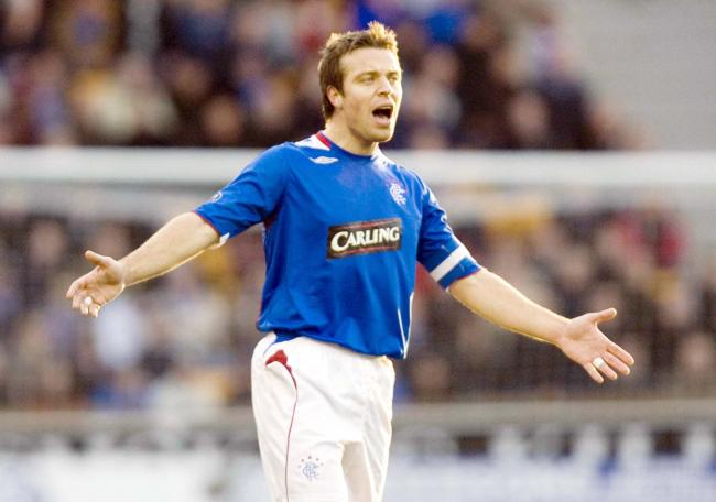 Gavin Rae in action for Rangers