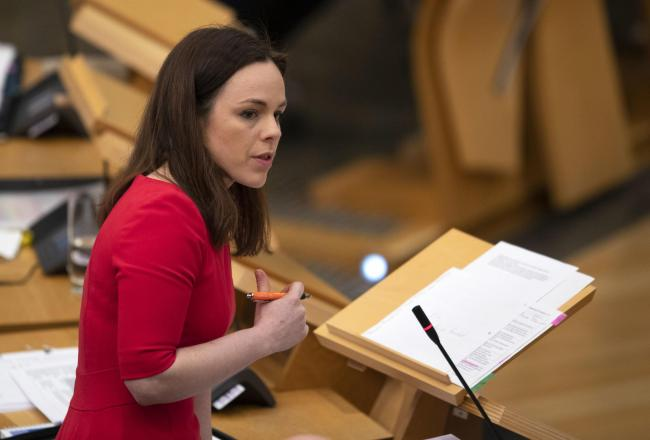 Kate Forbes: Full fiscal autonomy would help Scotland 'respond fully' to Covid-19 crisis