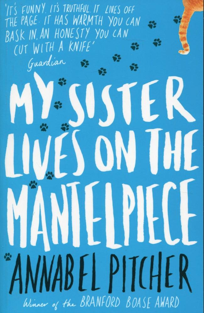 Young adult book review: My Sister Lives On The Mantelpiece by Annabel Pitcher