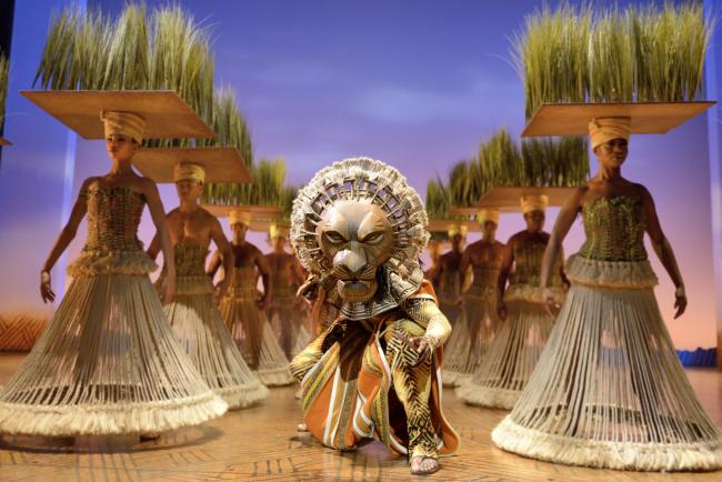Experience The Lion King at Edinburgh Playhouse this half term