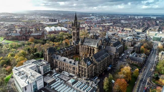 Students campaign over Glasgow University's £3m arms trade stake and 're-engagement' with fossil fuels