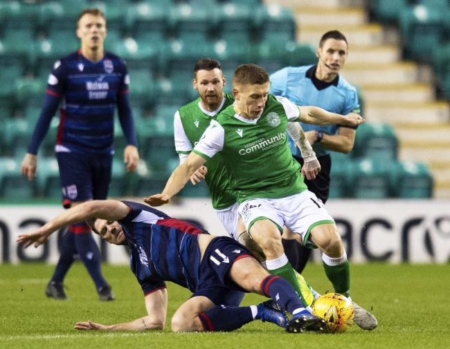 Hibs midfielder Docherty on why he's loving life away from Rangers
