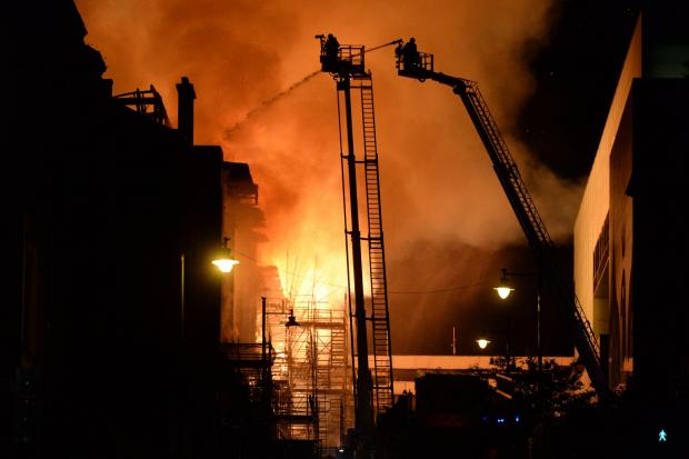 Escocia: la Escuela de Arte de Glasgow vio estallar dos incendios en cuatro años