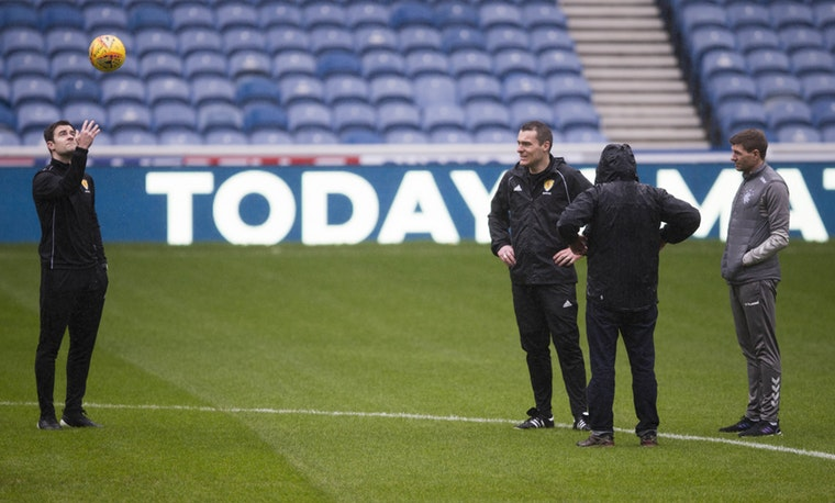 Rangers v Livingston called off due to waterlogged pitch