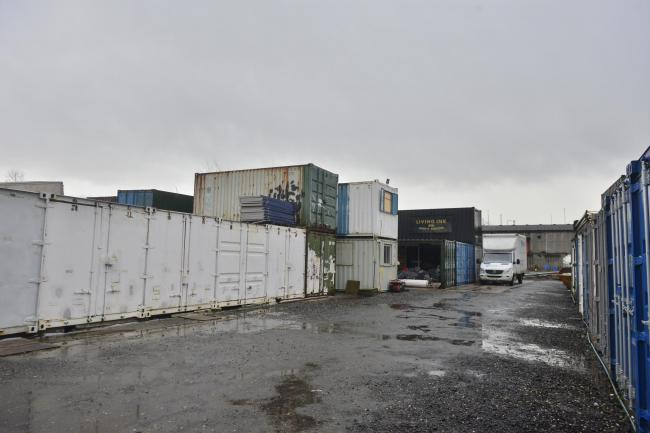 The storage facilities of Caledonian Moving and Storage, now trading as Movecare