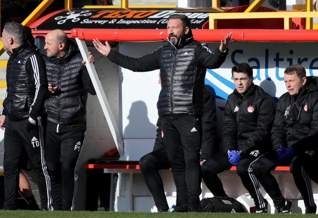 Derek McInnes was happy with Aberdeen's performance in defeat to Celtic.