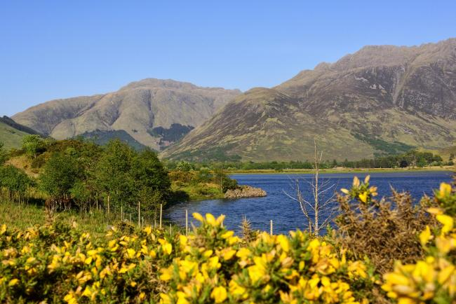 A man was pulled from the water in the Kyle of Lochalsh area.