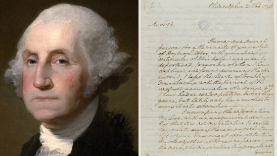 George Washington attempted to recruit Scottish farmers to replace 'slovenly' Americans