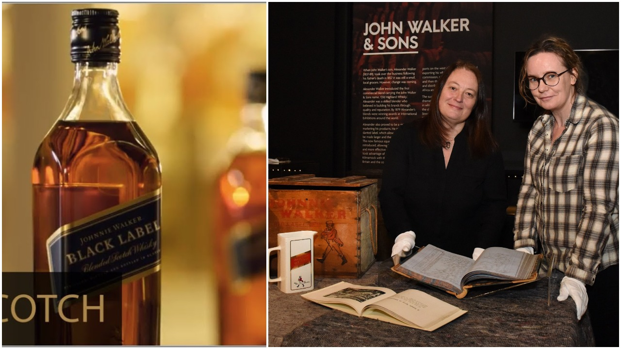 A stroll back in time as Johnnie Walker 'crown jewels' go on show
