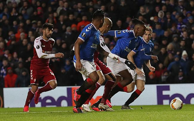 Joe Aribo savours wonder goal as Rangers fight back against Braga ...