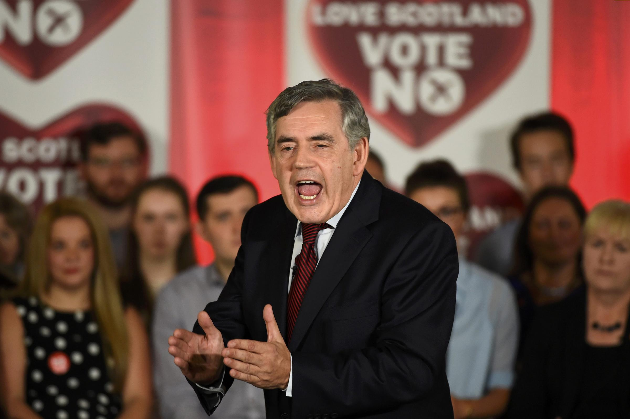 Kevin McKenna: Gordon Brown has become a major cause of the division he purports to revile