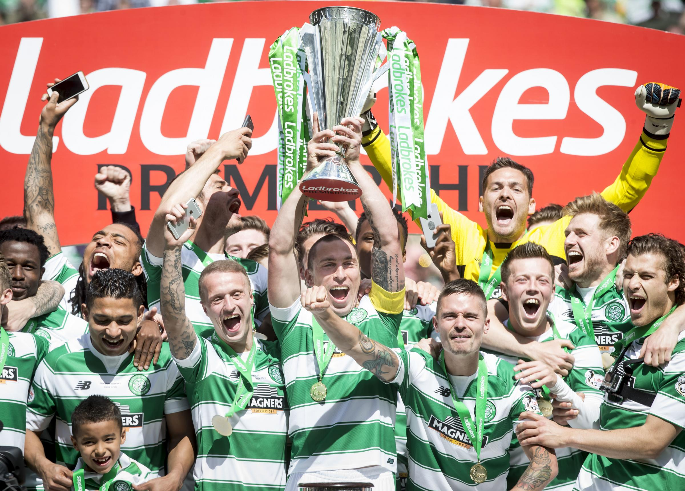 Celtic champions, Hearts relegated and Rangers, Motherwell and Aberdeen in Europe as SPFL end Premiership season early