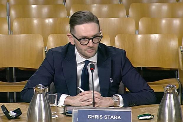 HeraldScotland: Chief executive of the Committee on Climate Change, Chris Stark