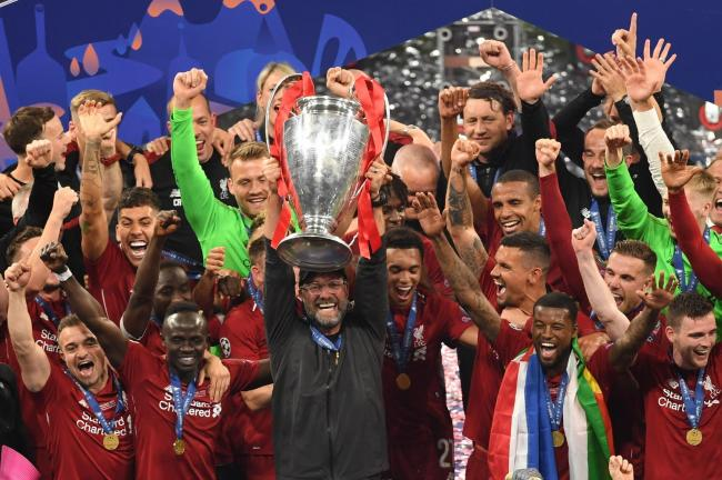 Liverpool are the current holders of the Champions League