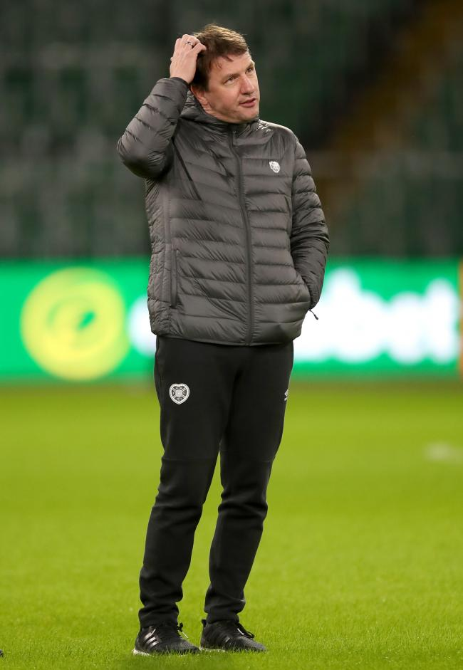 Stendel will try anything to save Hearts