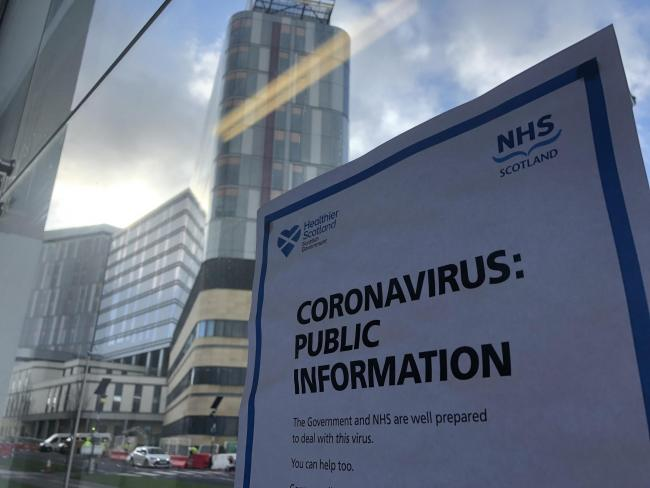 Glasgow hospital visits suspended with immediate effect to combat deadly coronavirus