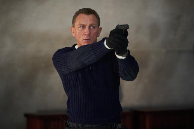 James Bond (Daniel Craig) in the now-postponed No Time to Die