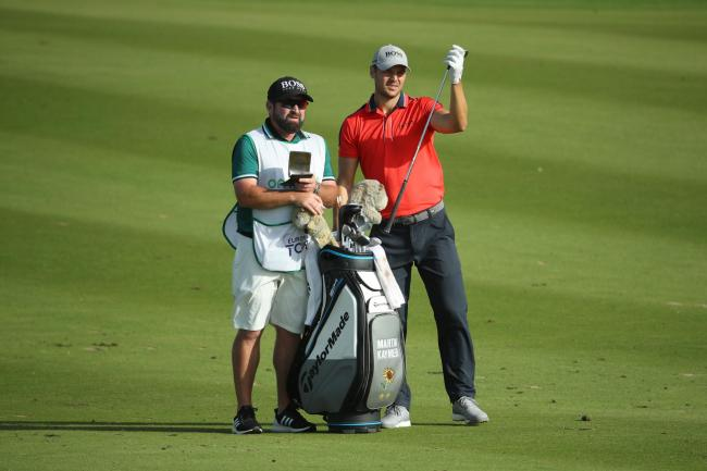 Martin Kaymer is back in partnership with caddie Craig Connelly