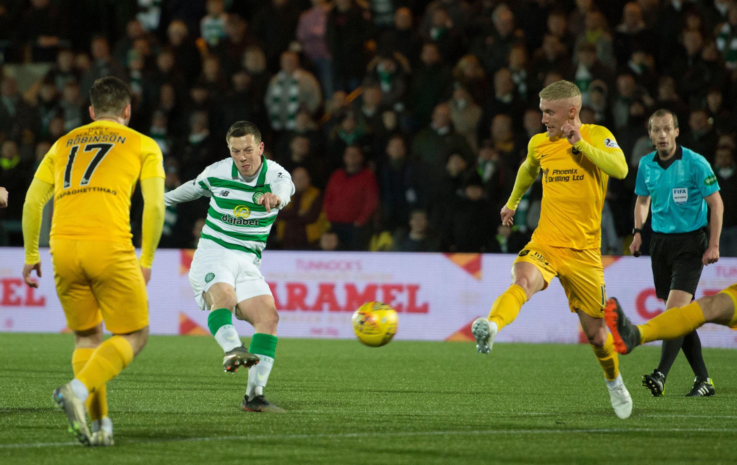 Livingston 2 Celtic 2: Injury-time Tom Rogic strike sends Neil Lennon's men 13 points clear