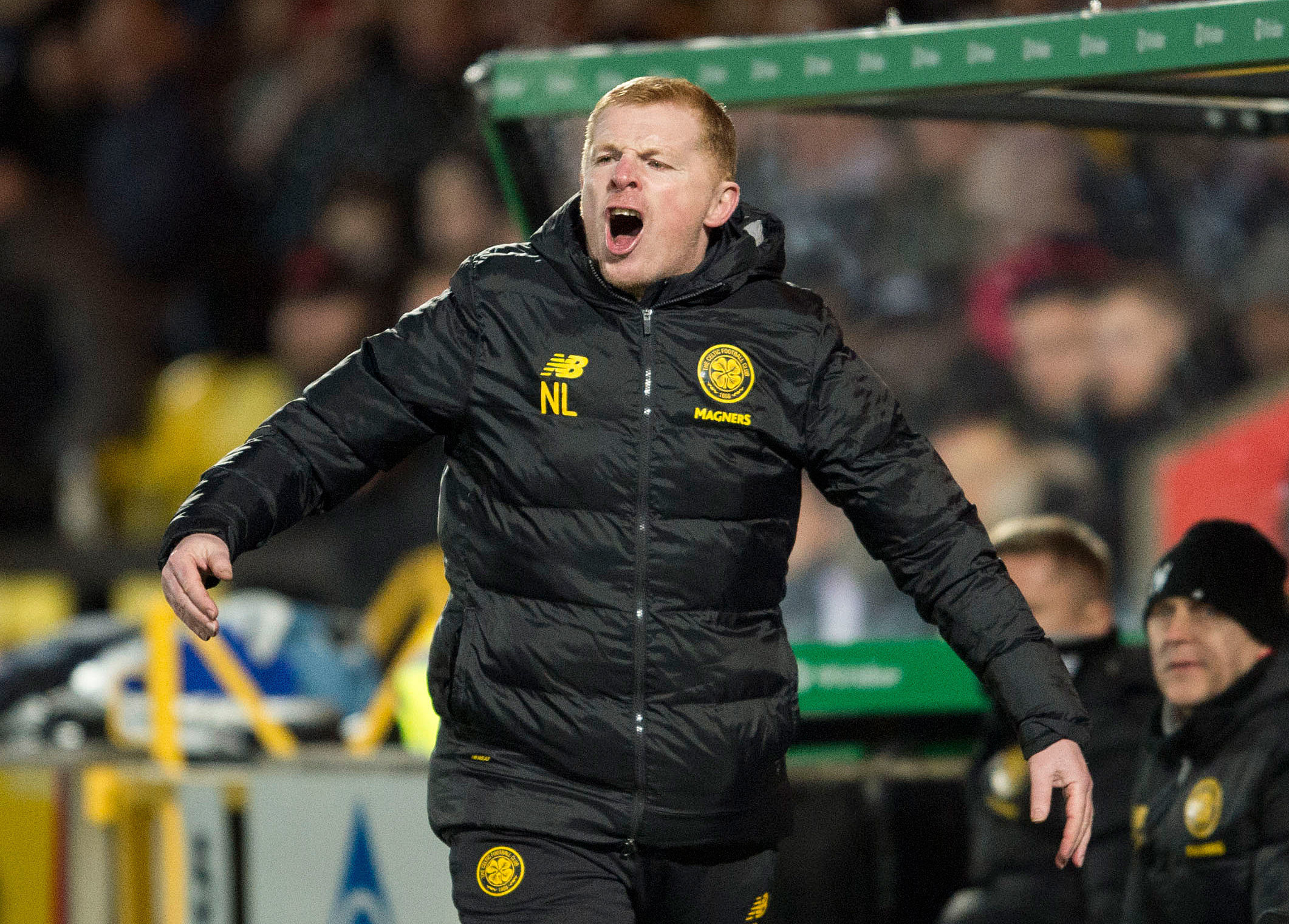 Neil Lennon plays down Scottish title talk despite Celtic increasing lead over Rangers to 13 points