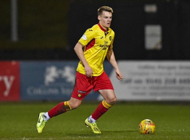 Rangers loanee Lewis Mayo was named man of the match on his Partick Thistle debut on Tuesday night