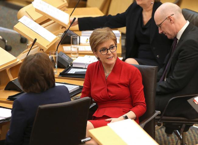 Nicola Sturgeon's personal ratings remain high