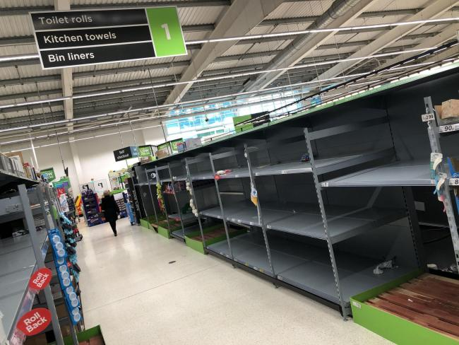 Is there a danger of empty supermarket shelves once again?