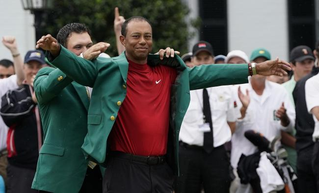 Tiger Woods could defend his Masters title behind closed doors