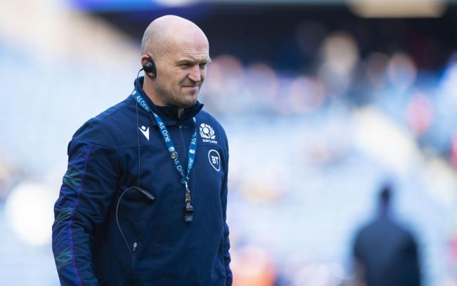 Scotland head coach Gregor Townsend. (Photo by Bill Murray / SNS Group).