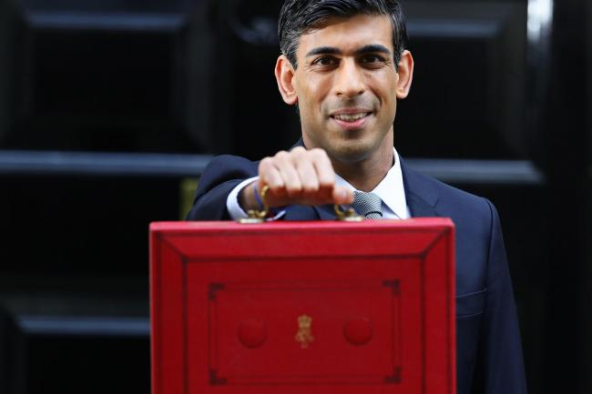 The Chancellor Rishi Sunak worked for hedge funds before entering parliament. Picture: Aaron Chown PA Wire