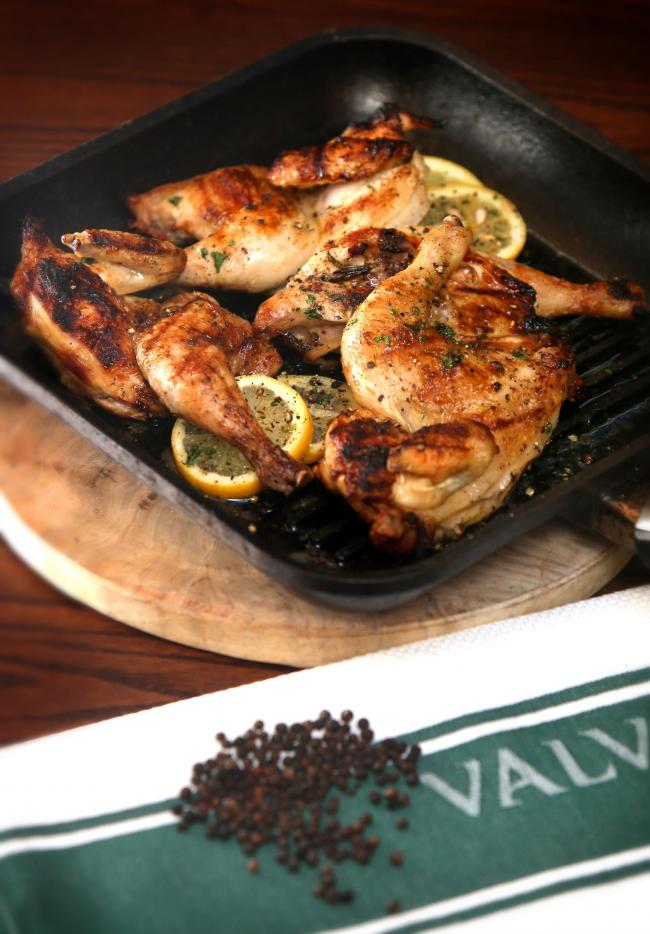 Contini recipes: grilled chicken. Pic Gordon Terris/The Herald Sunday.10/3/20.