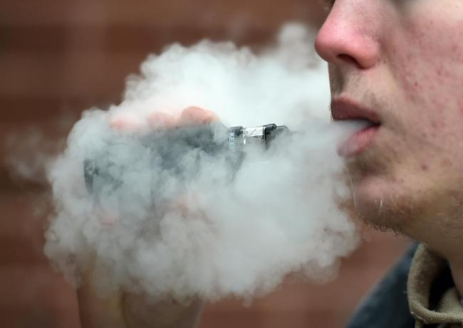 Coronavirus: Vaping in public places could lead to spread of condition