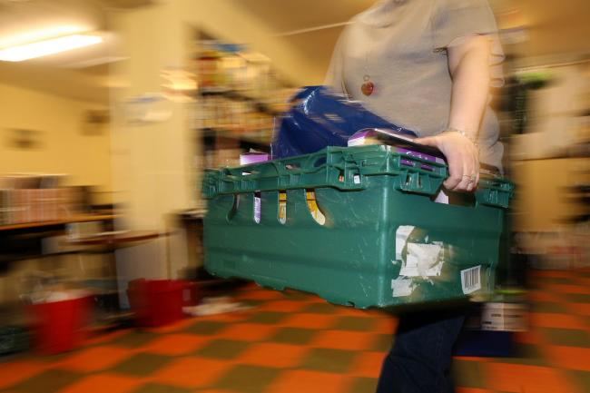 At this time of crisis, food banks are facing even greater problems