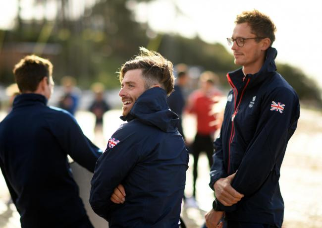 Luke Patience at the Team GB announcement