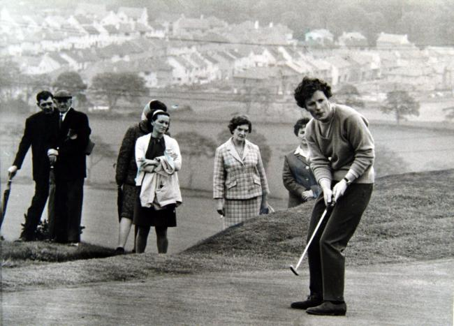 Belle Robertson is one of Scotland's greatest amateur golfers