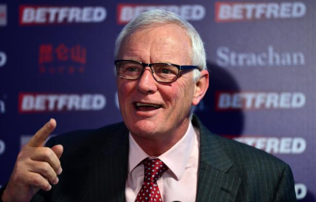 World Snooker Tour chairman Barry Hearn