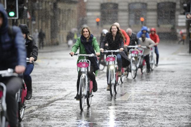 Cycling could be the key to greener transport and better health for Scots in the aftermath of the coronavirus.